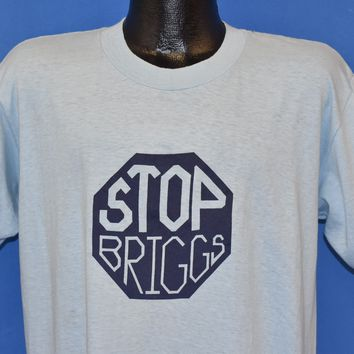 80s Stop Briggs & Stratton Union t-shirt Large