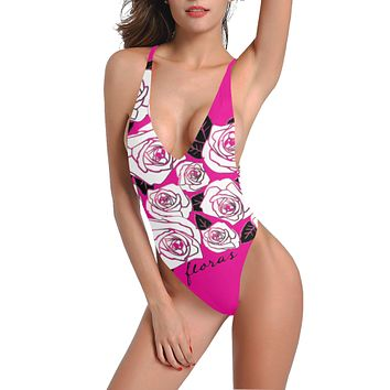 Floras Low Back One-Piece Swimsuit