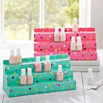 Jane Beauty Collection, Nail Polish Stadium Display, Confetti Dots