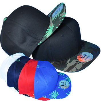 * Marijuana designed snapback In Royal