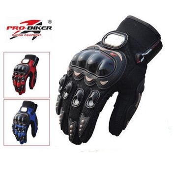 Riding Tribe Motorcycle Gloves Full Finger Protective Gear Motorbike Racing Scooter Motocross Gloves