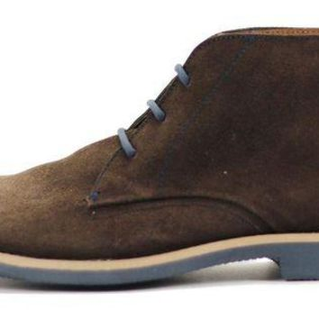 DCCKLP2 JD FISK for Men: Viego Brown Suede Boots