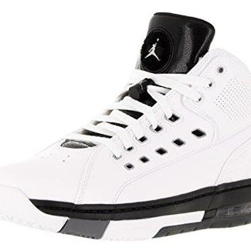 Nike Jordan Men's Jordan Ol'School Basketball Shoe  jordans black and white