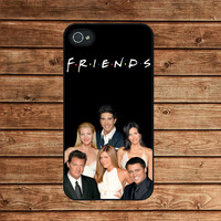 iphone 4 case,iphone 4s case,iphone 4 cover--friends serial tv show,in plastic or silicone case
