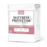 """Smooth Top Mattress Protector – Fits up to 13"""" Deep"""