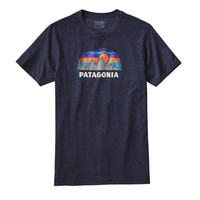 Patagonia Men's Woven Fitz Roy Cotton/Poly T-Shirt