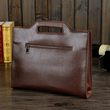 business briefbag leather bag
