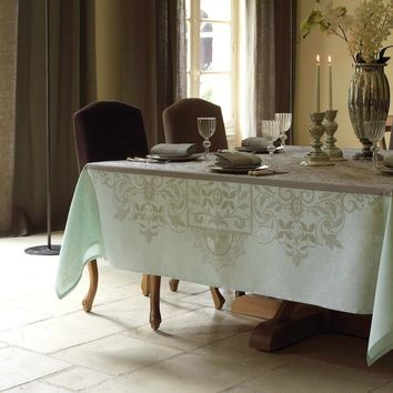 Venezia Table Linens in Ash Beige