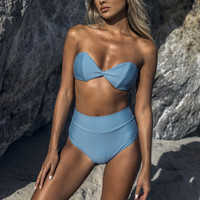 Montce Swim | Bellini Top x Hi Rise Bottom Bikini Separates (Hampton)