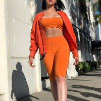 Orange is the New Black Cycling Set