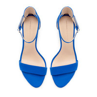 COMBINATION HIGH HEEL SANDAL - Shoes - Woman - ZARA United States