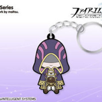 Fire Emblem Awakening 3DS D4 Rubber Strap Keychain Japan NEW Grima