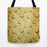 Messy Yellow Eggs Tote Bag by RunnyCustard Illustration