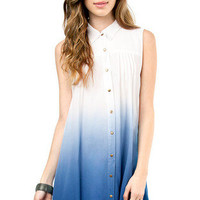 Mink Pink Great White Shirt Dress $88