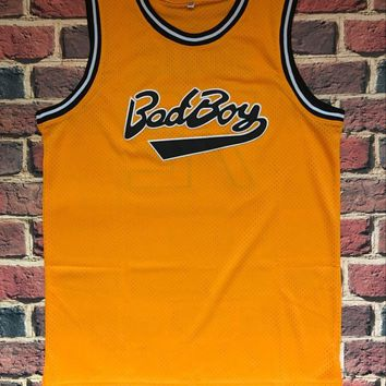 Biggie Smalls #72 Bad Boy Notorious BIG Basketball Jersey