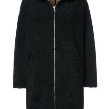 DCCKIN3 Sprung Fr¨¨res Reversible Shearling Coat