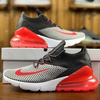 Nike Air Max 270 Flyknit AO1023-202 Sport Running Shoes - Best Online Sale