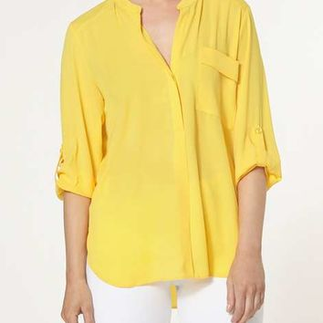 Lemon One Pocket Shirt