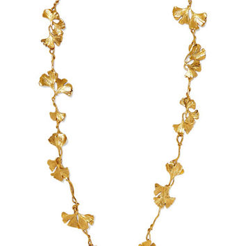 Aurélie Bidermann - Tangerine gold-plated necklace