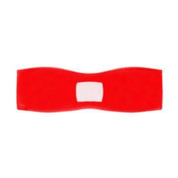 RED CHELSEA BANDEAU – COULBOURNE