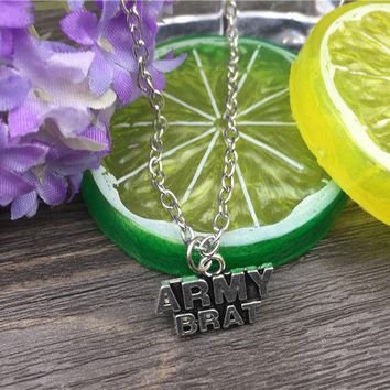 Army Brat Fashion Necklace