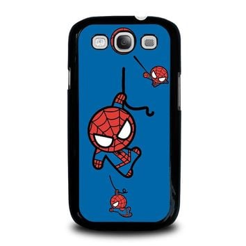 SPIDERMAN KAWAII Marvel Avengers Samsung Galaxy S3 Case Cover