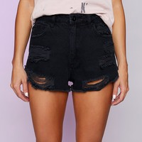 Abrand Jessie High Relaxed Short Vixen Black