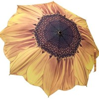 Galleria Sunflower Bloom Folding Umbrella