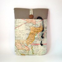 IPAD PRO Case w/ Charger Cord Pocket, Vintage Map iPad Sleeves 4 3 2 1, Cover, Atlas Nautical Adventure Travel Pacific Ocean Sea World Sac - Edit Listing - Etsy