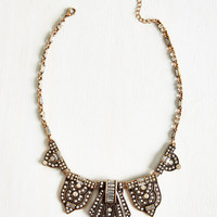 Vintage Inspired Statement Made Necklace by ModCloth