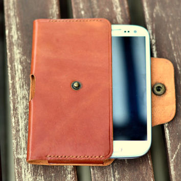 Leather phone case (Galaxy S3, iphone 6)