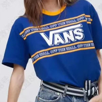 VANS  Lovers' ancient short sleeves