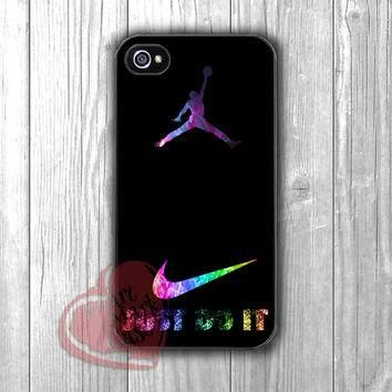 Jordan Nike Just Do It logo -end for iPhone 4/4S/5/5S/5C/6/ 6+,samsung S3/S4/S5,samsun