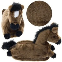Horse Animal Slippers for Women and Men Extra Large