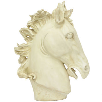 Resin Horse Head Figurine