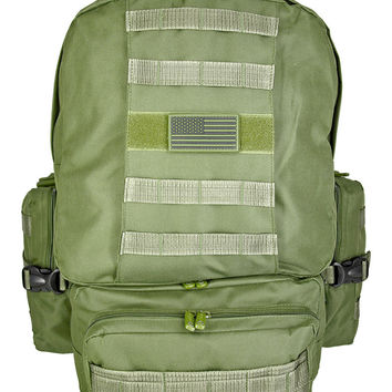 Heavy Duty Tactical Deployment Backpack  {9 colors}