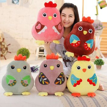 LARGE Chicken Stuffed Animal Toy Plush Cute Chick Pillow 5 STYLES