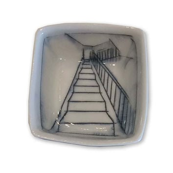 Tiny Square Dish - Sraircase