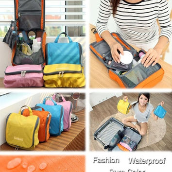 Travel Cosmetic Makeup Toiletry Pruse Wash Case Storage Hanging Bag = 1645864772