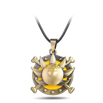 One Piece Thousand Sunny Anime Necklace
