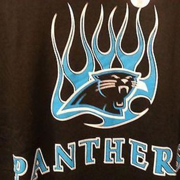 CAROLINA PANTHERS NEW LONG SLEEVE  T Shirt NFL  NEW SHIRT WITH TAGS LICENSED NFL