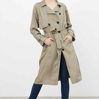 Silence + Noise Lauren Duster Trench Coat
