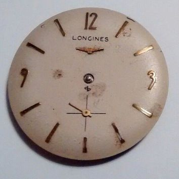 OLD vintage LONGINES cal. 370 17 jewel Wrist watch Movt Runs