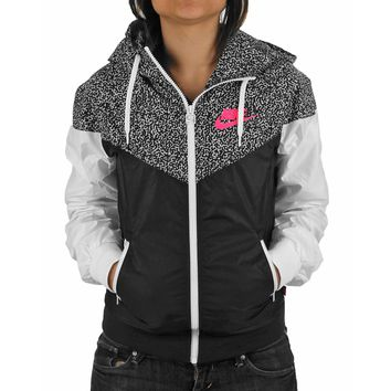 nike hooded zipper cardigan sweatshirt jacket coat windbreaker sportswear-17