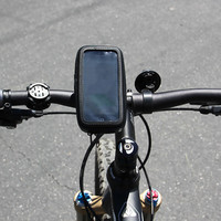 For Apple iPhone 5 Rainproof Pouch Bike Handlebar Mount Bicycle Phone Holder Bag