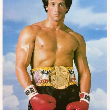 Rocky III Sylvester Stallone 1982 Movie Poster 20x28