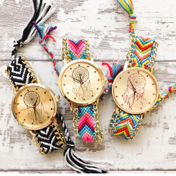Dream Catcher Friendship Watches #W77