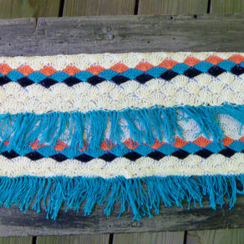 Southwestern Envelope Clutch Purse - Crochet