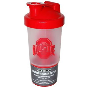Ohio State Buckeyes Protein Shaker Bottle - Everything Buckeyes - OSU Fan Shop