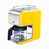 5-Cup Drip Coffee Maker - Yellow
